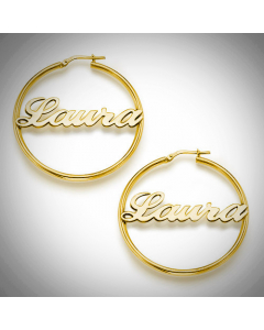 18k Gold-Plated Name Necklace | The Jewel In Giving