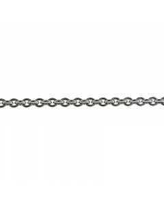 14k White Gold Cable Chain 3.0mm 30''