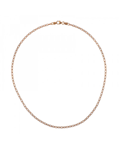 14k Rose Gold Oval Chain 2.9mm 24''