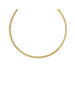 14k Yellow Gold Solid Link Chain Necklace Chain 5.7mm 18''