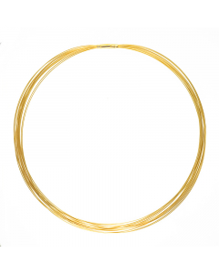 14k Yellow Gold 14 Strands Chain 0.5mm 16''