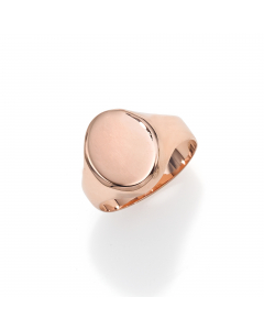 Women's Bold 14k Rose Gold Ring | The Jewel In Giving