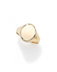 Women's Petite Statement Ring 14k Yellow Gold | The Jewel In Giving