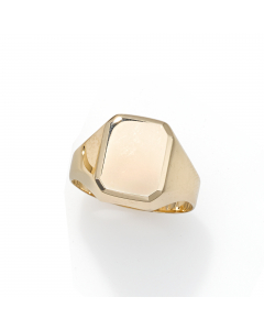 Women's Geometric Statement Ring 14k Yellow Gold | The Jewel In Giving