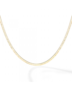 Women's Petite Petals Necklace 14k Yellow Gold | The Jewel In Giving