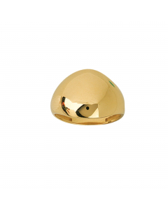 Graduated Dome Ring 14k Yellow Gold