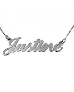 Petite Silver Name Necklace   The Jewel In Giving