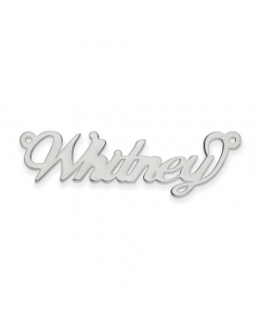 Women's Sterling Silver Name Necklace | The Jewel In Giving